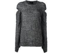 Wollpullover mit Cut-Outs