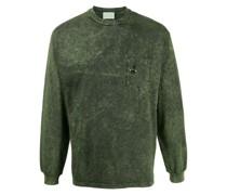 Sweatshirt mit Stone-Wash-Effekt
