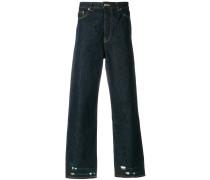 Street raw detail jeans