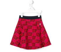 ini me Love print skirt