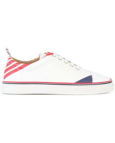 Thom Browne Herren Gestreifte Sneakers