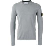 Pullover mit Logo-Patch - men - Baumwolle - XXL