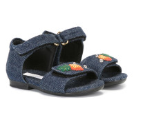Sandalen mit Ananas-Patches - kids