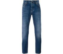 straight leg jeans - men - Baumwolle - 46