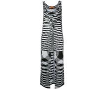 long knitted vest - women - Polyester/Acetat