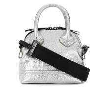 'Pyaniga' Mini-Tasche im Metallic-Look