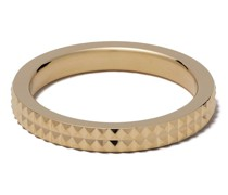 'Pyramid Guilloche' Ring