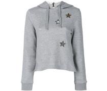 'Star' Sweatshirt mit Kapuze