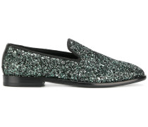 Marlo glitter loafers