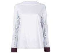 embellished sleeve blouse
