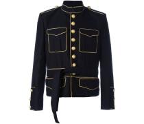 Gegurtete Military-Jacke