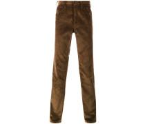 slim corduroy trousers