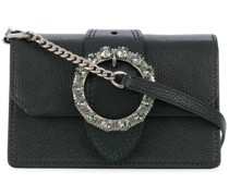 embellished buckle mini bag