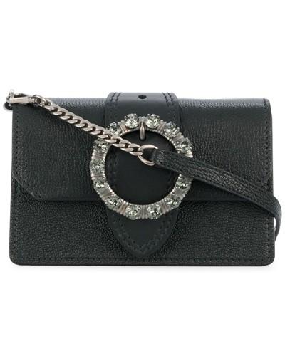 Miu Miu Damen Mini Handtasche mit Verzierungen
