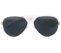 'Medusa' Sonnenbrille - unisex - Acetat/metal
