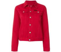 slim-fit denim jacket