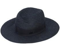 Panama-Hut mit Logo-Schild