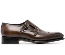 Monk-Schuhe mit poliertem Finish
