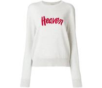 """Pullover mit """"Heaven""""-Stickerei"""