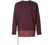 Sweatshirt mit doppeltem Saum