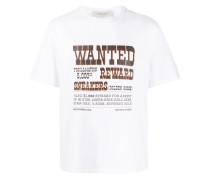 "T-Shirt mit ""Wanted""-Print"