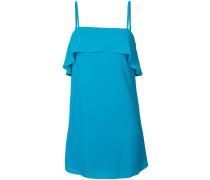 ruffled detail dress - women - Polyester - M