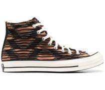Texturierte 'All Star' High-Top-Sneakers