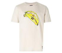 banana peel print T-shirt