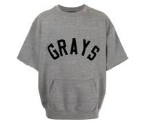 Grays-print oversized T-shirt