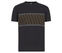 T-Shirt mit perforiertem FF-Einsatz