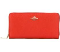 Portemonnaie mit Reißverschluss - women - Leder