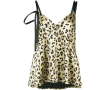 Camisole-Top mit Leopardenmuster