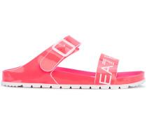 Slip-On-Sandalen mit Logo