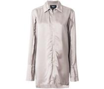 Langes Hemd mit Reißveschluss
