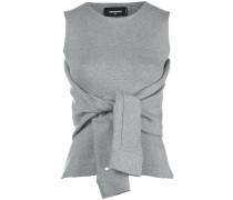 vest with tie sleeves