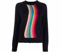Swirl Intarsien-Pullover