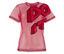 """""""T-Shirt mit """"""""Do it""""""""-Slogan"""""""