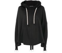 chunky drawstring hoodie
