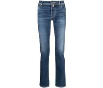 Jeans mit Einstecktuch
