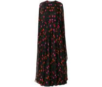 petal print gown