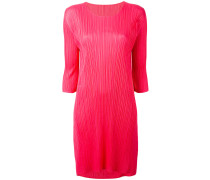 Plissiertes Shiftkleid - women - Polyester - 3
