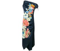 Kleid mit floralem Design
