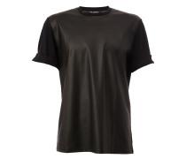 - T-Shirt mit Kontrasteinsatz - men