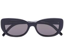 Ovale Cat-Eye-Sonnenbrille