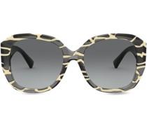 Eckige Sonnenbrille mit VLOGO