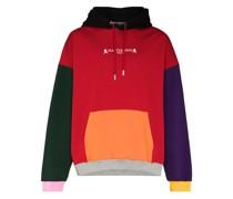 Hoodie in Colour-Block-Optik