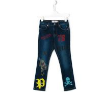Schmale 'Brick' Jeans