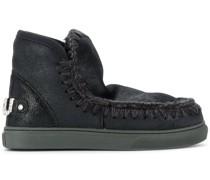 Eskimo crystal-logo boots