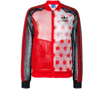 contrast track jacket - women - Polyester - 42
