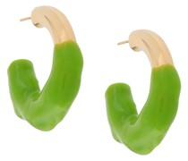 Zweifarbige Ohrringe